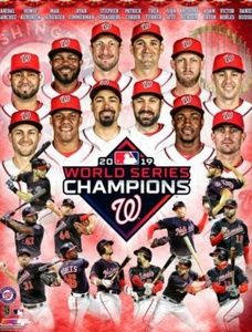 MLB Nationals 2019 World Series Champions Picture